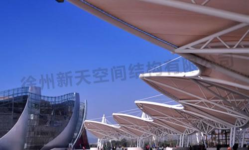 徐州音乐厅看台膜结构工程采用声学设计   剧场隔声要求最